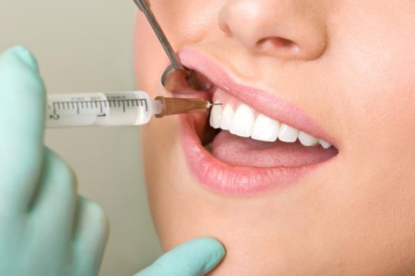 Хорошая заморозка при удалении зуба